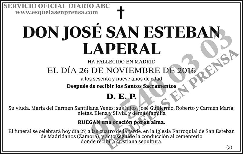 José San Esteban Laperal